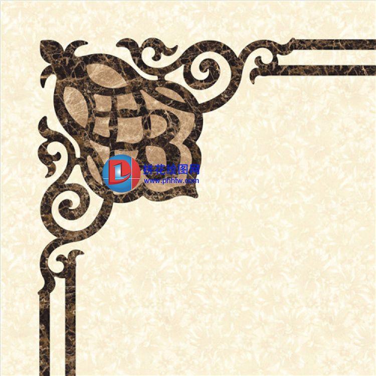 彩图与cad -拼花绘图网 水刀拼花 瓷砖拼花 拼花图纸