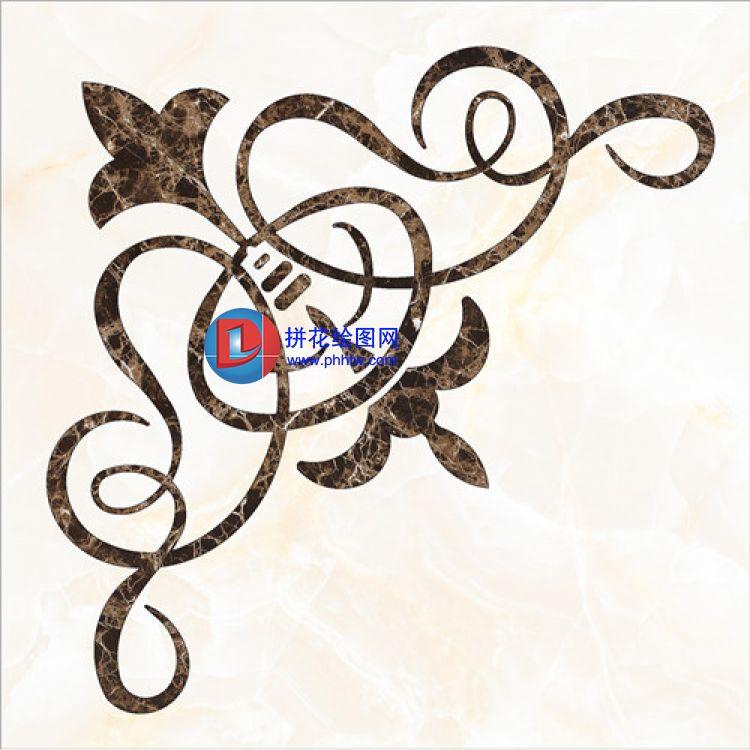 彩图与cad -拼花绘图网|水刀拼花|瓷砖拼花|拼花图纸